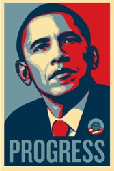 Obama by Shepard Fairey