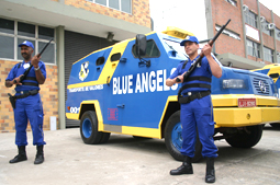One of the thousands of private security firms...