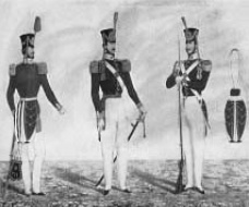 Brazilian National Guard troops in the C19th