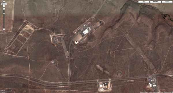 An aerial view of the NSA's station at Yakima in Washington State (Cryptome)