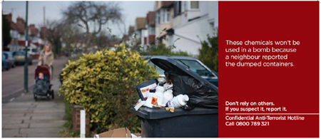 Why not check your neighbours' waste bins?