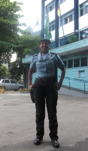 Capitao Pricilla, Head of Santa Marta Community Police initiative