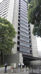 The Tokyo Metropolitan Police HQ in Chiyoda-ku