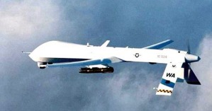 A Predator UAV equiped with Hellfire missile (USAF)