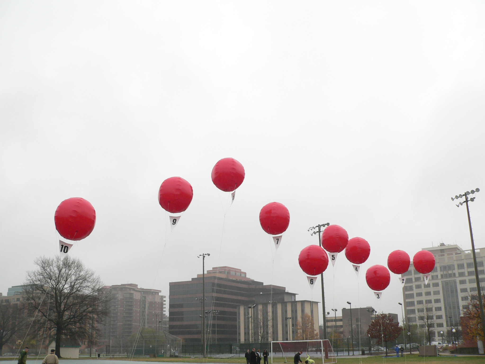 DARPA's Big Red Balloons